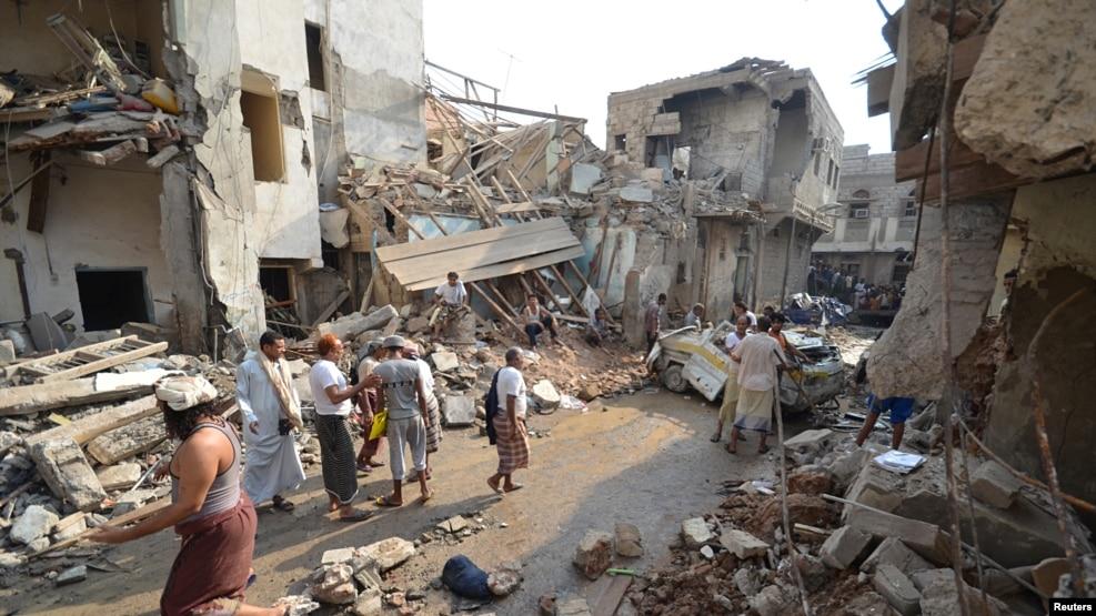 Image result for Saudi airstrikes on Hodeidah Yemen