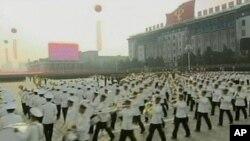北韩举行大规模阅兵,庆祝劳动党成立65周年