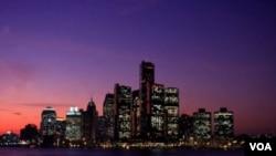 Panorama Detroita