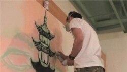 Graffiti Artists Paint Beijing