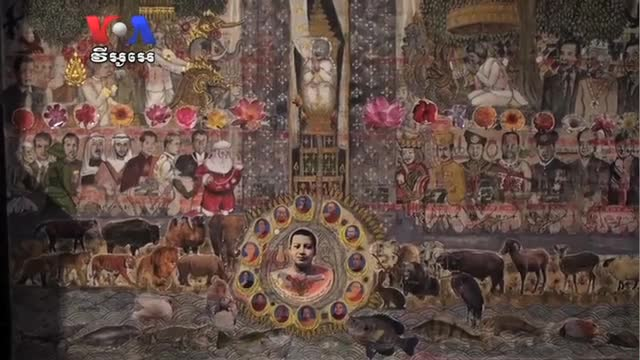 Art Pieces Dedicated to Late King Norodom Sihanouk