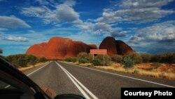 Daerah pedalaman di Australia, atau disebut Outback. (Foto: Dok)