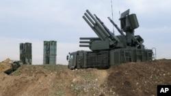 مشرق وسطیٰ میں نصب روس کی فضائی دفاعی نظام ایس 400، فائل فوٹو