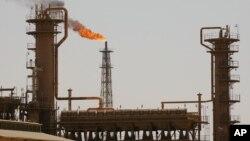 이라크 최대 정유시설인 바이지 북부 정유시설. (자료사진)