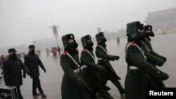 Polusi udara di Beijing, China (Foto: dok).