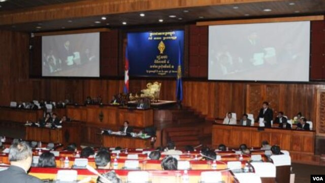 "Cheam Yiep, a parliamentarian for the ruling Cambodian People's Party and head of the finance committee, said the proposal was not accepted because it came ""too late"" for the 2013 budget."