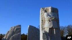 美国民权运动领袖马丁.路德.金纪念碑