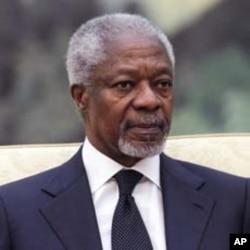 Kofi Annan, BMT maxsus vakili