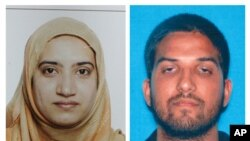 Syed Farook (der.) y Tashfeen Malik estaban casados y tenía un hijo de seis meses. Malik fue traída a EE.UU. de Pakistán con una visa compromiso.