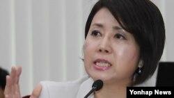 정옥임 북한 이탈주민 지원재단 신임 이사장 (자료사진)