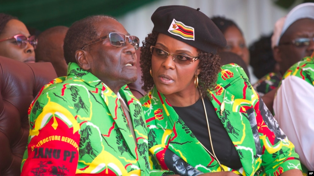 Image result for photos of Robert Mugabe and Wife