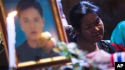 အမည္မသိ ေသနတ္သမားလက္ခ်က္နဲ႔ ေသဆံုးသြားခဲ့သူ Yuthana Ong။ (ဒီဇင္ဘာ ၂၈၊ ၂၀၁၃)