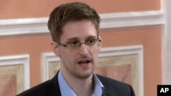 FILE - Former National Security Agency systems analyst Edward Snowden.
