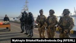 Українська морська охорона отримала американське обладнання, 24 січня 2020 року
