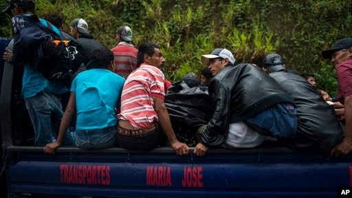 Помпео: власти Мексики обещают остановить караван мигрантов из Гондураса