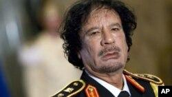 统治利比亚42年的前领导人穆阿迈尔.卡扎菲