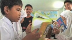 Charity Brings Books to Indonesian Children