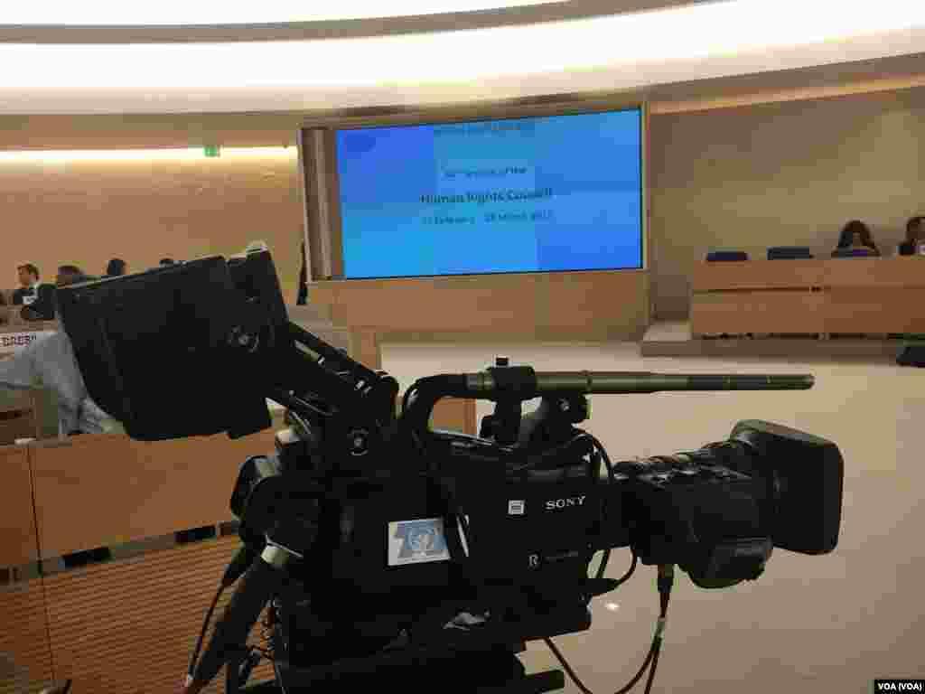 نشست حقوق بشر سازمان ملل با محوریت بررسی پرونده نقض حقوق بشر در ایران روز دوشنبه در ژنو برگزار شد.
