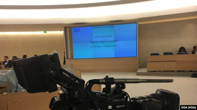 عکس هایی از نشست حقوق بشر سازمان ملل درباره پرونده ایران