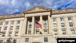 资料照:美国商务部大楼