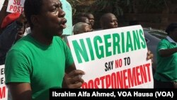 Nigerian Election Protests, Feb. 5, 2015.