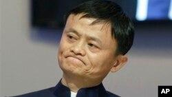 Tỉ phú Jack Ma, người đồng sở hữu đội bóng hàng đầu Quảng Châu Evergrande của Trung Quốc.