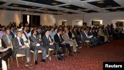 Para anggota parlemen Libya melakukan sidang di Tobruk (foto: dok).