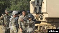 美國陸軍2018年7月12日參與環太軍演實彈擊沉軍艦(美國陸軍照片)