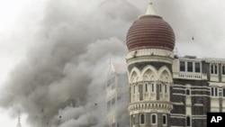 حملے کا نشانہ بننے والا ہوٹل (فائل فوٹو)