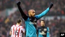 Cầu thủ Pháp Thierry Henry