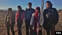 Lima pengusaha muda Indonesia yang mengikuti pelatihan bisnis Project Catalyst di Seattle, Washington bulan November 2014 lalu (foto: courtesy).