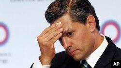 El presidente de México, Enrique Peña Nieto, está en Washington para una visita oficial de dos días.