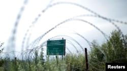 На административной границы в районе Хурвалети, Южная Осетия. Архивное фото