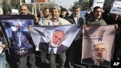 'زندانی سازی رهبران مخالفین موضوع داخلی ایران است'