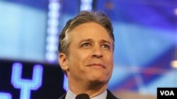 """Jon Stewart, comediante estadounidense recientemente nominado a para ser persona del año 2010 por la revista """"People""""."""
