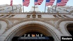 Khách sạn Quốc tế Trump ở Washington là địa điểm lui tới của nhiều đại diện chính phủ nước ngoài và các nhà ngoại giao kể từ khi ông Donald Trump đắc cử tổng thống vào năm 2016.