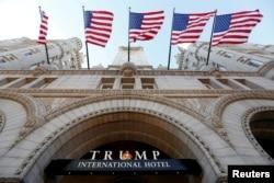 ტრამპის ქსელის ერთ-ერთი სასტუმრო ვაშინგტონში, 2016 წ.