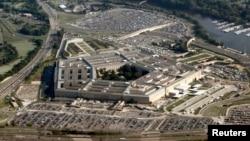 Le Pentagone vu du ciel à Arlington, Virginie aux Etats-Unis, le 31 août 2010.