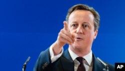 David Cameron dice que dos períodos como primer ministro son suficientes.