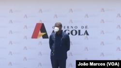 Presidente angolano João Lourenço em Benguela, 20 Fevereiro 2021