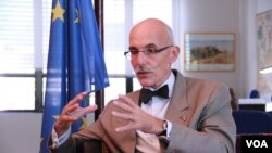 Jean-Francois Cautain, EU ambassador to Cambodia