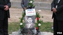 Milli Hökumətin liderlərindən olan Xanəli Mütiyinin məzarı