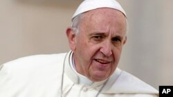 FILE - Pope Francis is scheduled to begin a three-day trip to Armenia on Friday.