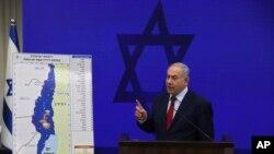 Izraelski premijer Benjamin Netanjahu govori na pres konferenciji u Tel Avivu, 10. septembar 2019.