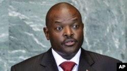 Shugaban Kasar Burundi, Pierre Nkurunziza