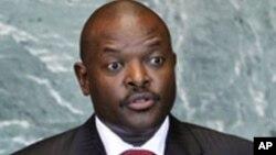 Shugaban kasar Burundi, Pierre Nkurunziza.