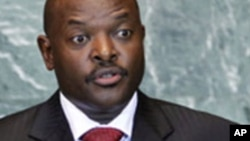 Shugaban kasar Burundi Pierre Nkurunziza.