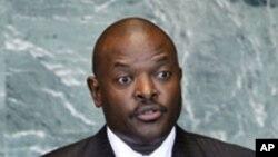 Shugaban kasar Burundi Pierre Nkurunziza
