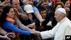 El papa Francisco se prepara para celebrar la canonización de Juan Pablo II y Juan XXIII, este domingo.