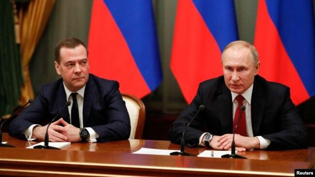 普京為延續影響力提議修憲 俄政府集體辭職